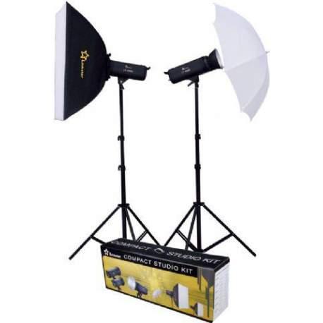 Комплекты студийных вспышек - Linkstar Flash Kit LFK-750D Digital - быстрый заказ от производителя