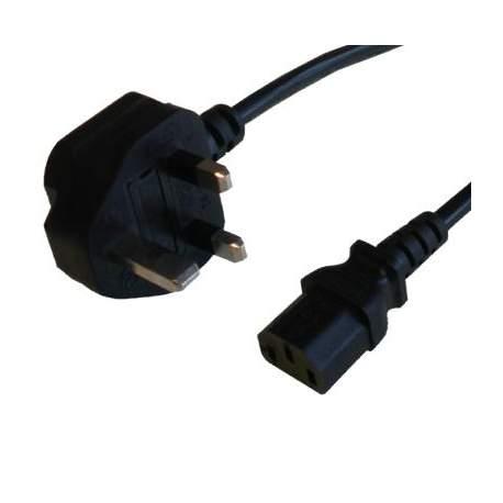 Аксессуары для освещения - Falcon Eyes Power Cable with UK Plug 5m - быстрый заказ от производителя