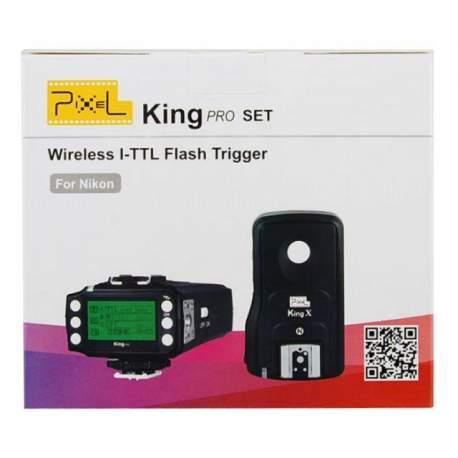 Триггеры - Pixel i-TTL Radio Trigger Set King Pro for Nikon - быстрый заказ от производителя