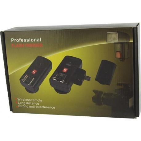 Radio palaidēji - StudioKing Radio Trigger Set TRC04H for Camera Speedlite Flash Guns - ātri pasūtīt no ražotāja
