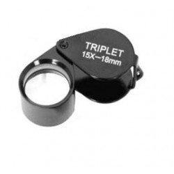Palielināmie stikli - Benel Optics Jewelry Magnifier Triplet 15x 18mm - ātri pasūtīt no ražotāja