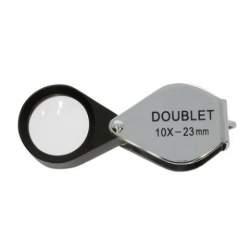 Palielināmie stikli - Benel Optics Jewelry Magnifier Doublet 10x 23mm - perc šodien veikalā un ar piegādi