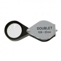УВЕЛИЧИТЕЛЬНЫЕ СТЕКЛА/ ЛУПЫ - Byomic Jewelry Magnifier Doublet BYO-ID1023 10x23mm - купить сегодня в магазине и с доставкой