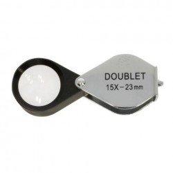 Palielināmie stikli - Benel Optics Jewelry Magnifier Doublet 15x 23mm - perc šodien veikalā un ar piegādi