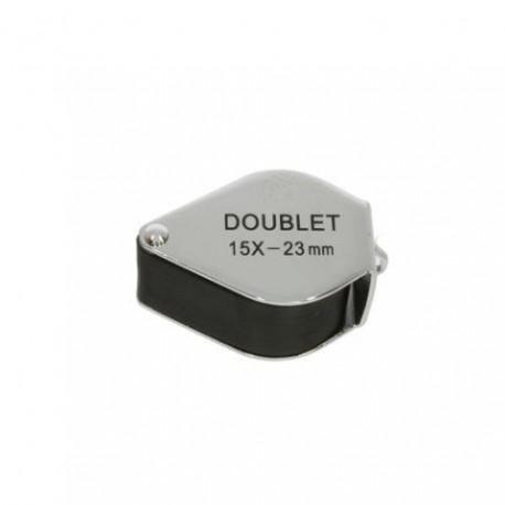Palielināmie stikli - Benel Optics Jewelry Magnifier Doublet 15x 23mm - ātri pasūtīt no ražotāja