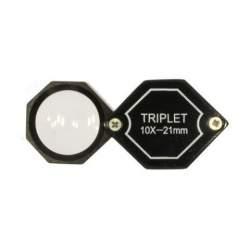 Palielināmie stikli - Benel Optics Jewelry Magnifier Triplet 10x 20,5 mm - ātri pasūtīt no ražotāja