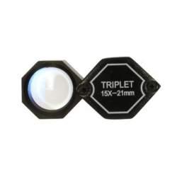 УВЕЛИЧИТЕЛЬНЫЕ СТЕКЛА/ ЛУПЫ - Benel Optics Jewelry Magnifier Triplet 15x 20,5 mm - быстрый заказ от производителя