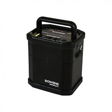 Discontinued - Bowens BW-7694 Large TravelPak Starter Kit inc. Control Panel, Large Battery,
