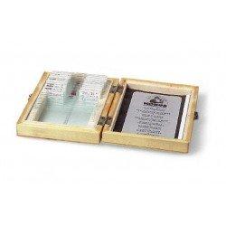 Mikroskopi - Konus Preparation Set Human Tissue 2 (10 Pcs) - ātri pasūtīt no ražotāja