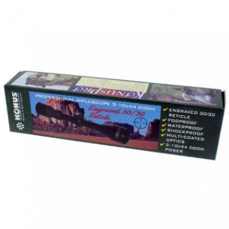 Прицелы - Konus Rifle Scope Konuspro 3-10x44 - быстрый заказ от производителя