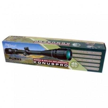 Optiskie tēmekļi - Konus Rifle Scope Konuspro 6-24x44 - купить сегодня в магазине и с доставкой