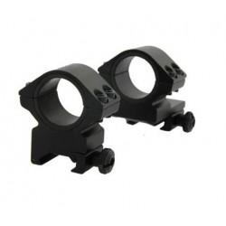 Optiskie tēmekļi - Konus Mount set 25-30mm Dual-T - ātri pasūtīt no ražotāja