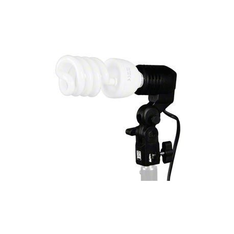 Fluorescent - walimex Lamp Holder E27+ Hotshoe - quick order from manufacturer