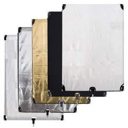 Отражающие панели - BRESSER BR-FP10 5 in 1 Flag Panel 90X120CM - быстрый заказ от производителя
