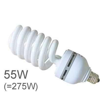 Studijas gaismu spuldzes - Bresser JDD-6 Spiral Daylight lamp E27/ 55W - perc šodien veikalā un ar piegādi