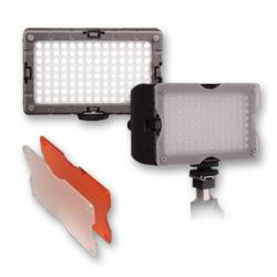 LED uz kameras - Menik S-5 Foto / Video-Lighting LED 6.8W + accum - ātri pasūtīt no ražotāja