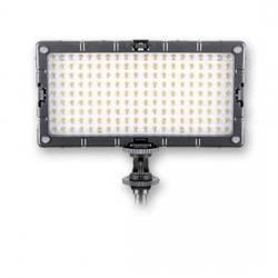 LED uz kameras - Menik S-7 Foto / Video-Lighting LED 11W-175W + 2 accum - ātri pasūtīt no ražotāja
