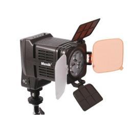 LED uz kameras - Menik S-11 Video-Lighting LED 4x3W - ātri pasūtīt no ražotāja