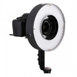 Video LED - Menik LED LH-360 25W/2.300LUX RingLamp + 2 accu's - ātri pasūtīt no ražotāja