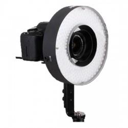 """""""Ring"""" pastāvīgā gaisma - Menik LED LH-360 25W/2.300LUX RingLamp + 220v adapter - ātri pasūtīt no ražotāja"""