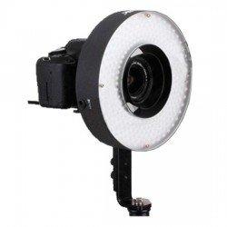 Video LED - Menik LED LH-360 25W/2.300LUX RingLamp + 220v adapter - ātri pasūtīt no ražotāja
