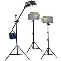 Video LED - Bresser LED Foto-Video SET 3 x LG-500 30W/4.600LUX - ātri pasūtīt no ražotāja