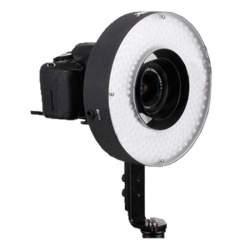 """""""Ring"""" pastāvīgā gaisma - Bresser LED LH-600 36W/5.500LUX RingLamp + 220v adapter + 2 accum - ātri pasūtīt no ražotāja"""