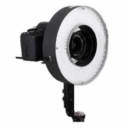 Video LED - Bresser LED LH-600 36W/5.500LUX RingLamp + 220v adapter + 2 accum - ātri pasūtīt no ražotāja