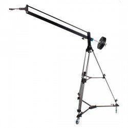 Video krāni - BRESSER BR-CR1 Video crane + Tripod with wheels - quick order from manufacturer