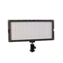 LED uz kameras - Bresser LED SL-448 26.9W/2.800 LUX Slimline Video + StudioLamp - perc šodien veikalā un ar piegādi