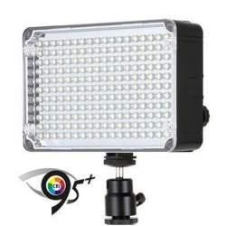 LED uz kameras - Aputure Amaran AL-H198C LED gaisma Bi-Color - perc šodien veikalā un ar piegādi