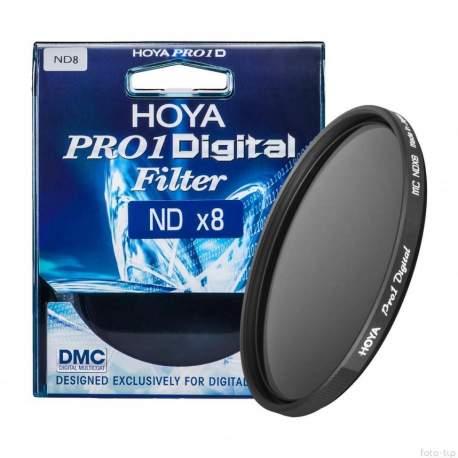 ND фильтры - Hoya Pro1 Digital filtrs 77 mm ND x 8 77mm - быстрый заказ от производителя