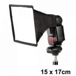 Aksesuāri zibspuldzēm - Jinbei e-15x17 softbokss kameras zibspuldzei - perc veikalā un ar piegādi