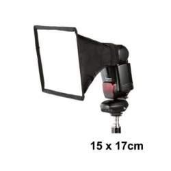 Aksesuāri zibspuldzēm - Jinbei e-15x17 softbokss kameras zibspuldzei - perc šodien veikalā un ar piegādi