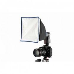 Aksesuāri zibspuldzēm - Ezybox Speedlite 2 LS2430 22x22cm softbokss kameras zibspuldzei - perc veikalā un ar piegādi