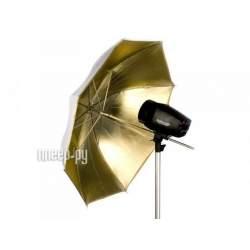 Зонты - Falcon Eyes Umbrella UR-48G Gold/White 122 cm - быстрый заказ от производителя