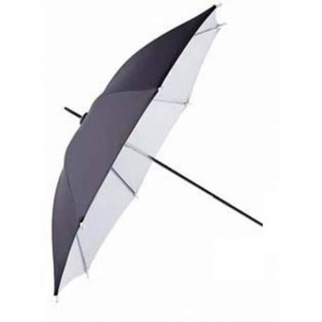 Foto lietussargi - Falcon Eyes Umbrella UR-32WB White/Black 70 cm - perc šodien veikalā un ar piegādi