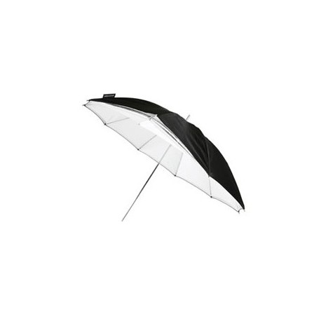 Aksesuāri - Bowens BW-4036 lietussargs 90cm sudrabs-balts umbrella noma