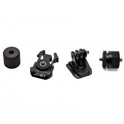 GoPro Stiprinājumi - JOBY sporta kameru adapteru komplekts - perc veikalā un ar piegādi
