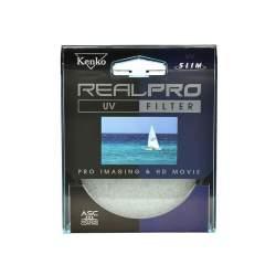 Objektīvu filtri - KENKO FILTER REAL PRO UV 62mm filtrs - perc šodien veikalā un ar piegādi