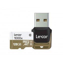 Atmiņas kartes - LEXAR 64GB SDMHC UHS-II 1000X W/RDR C10 U3 - perc šodien veikalā un ar piegādi