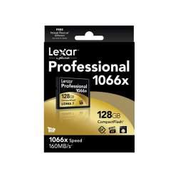 Atmiņas kartes - LEXAR 128GB 1066X PROF. CF - perc šodien veikalā un ar piegādi
