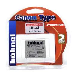Camera Batteries - HÄHNEL DK BATTERY CANON HL-4LHP - buy today in store and with delivery