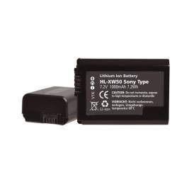 Kameras akumulatori - HÄHNEL DV BATTERI SONY HL-XW50 - perc šodien veikalā un ar piegādi