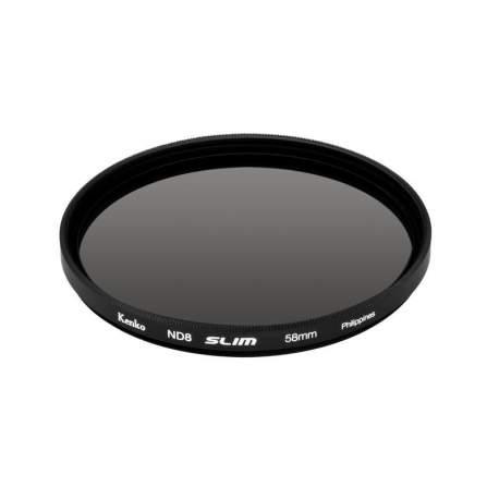Objektīvu filtri - KENKO FILTER ND8 SLIM 62MM - perc šodien veikalā un ar piegādi