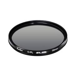 Objektīvu filtri - KENKO FILTER CIRCULAR POLARIZING SLIM 55MM - perc šodien veikalā un ar piegādi