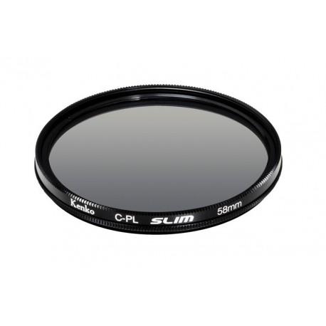Objektīvu filtri - KENKO FILTER CIRCULAR POLARIZING SLIM 58MM - perc šodien veikalā un ar piegādi