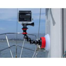 Stiprinājumi - Joby suction cup Gorillapod Arm + GoPro adapter - ātri pasūtīt no ražotāja