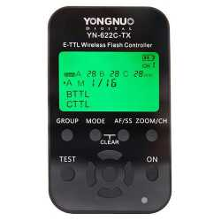 Radio palaidēji - Yongnuo YN-622C-TX Canon TTL LCD zipsuldzes raidītāis - perc veikalā un ar piegādi
