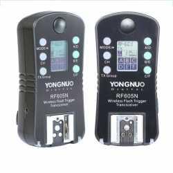 Radio palaidēji - Yongnuo RF-605N radio palaidēju komplekts Nikon - perc šodien veikalā un ar piegādi